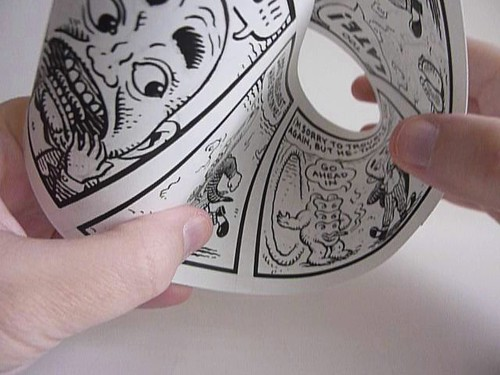 Moebius Comic Strip by Jim Woodring - video