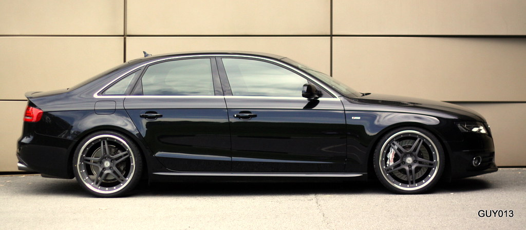 audi a5 s5 with custom wheels real life pictures only. Black Bedroom Furniture Sets. Home Design Ideas