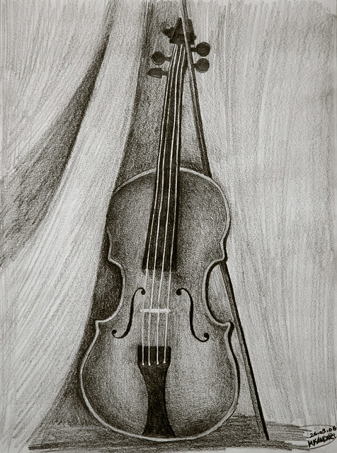 Violin   mY Drawing 26.05.2006   By: PHOTO ♥ BOOTH ...