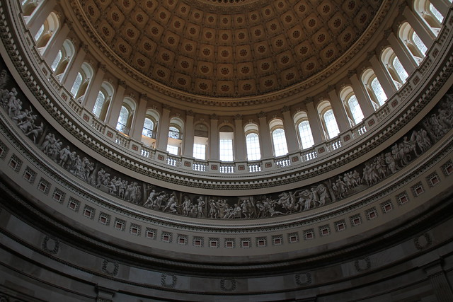 United States Capitol Rotunda Inside the United States ...