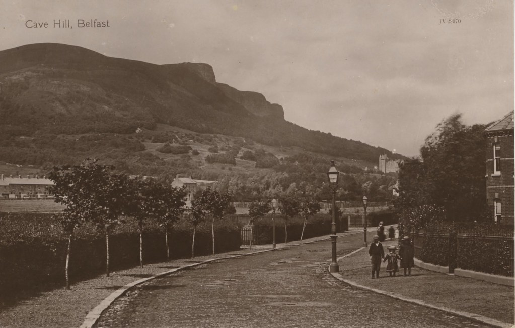 belfast hill cave historical photograph flickr