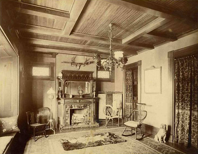 Victorian parlor 1880's