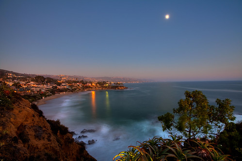 california county longexposure orange beach cali mark cliffs fullmoon ii 5d bluehour southerncalifornia orangecounty oc hdr lagunabeach sunsetcanon crescentbaypointpark
