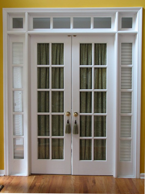 French Door Window Treatments  Flickr - Photo Sharing!