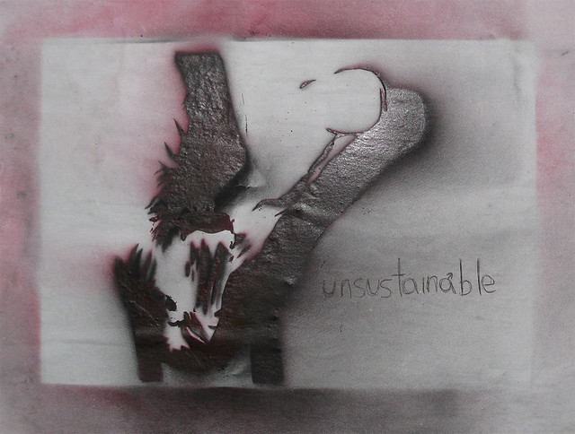 Header of unsustainable