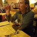 Enjoying Some Montepulciano Wine - Montefollonico, Tuscany