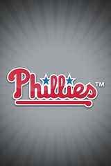 Philadelphia Phillies Away Wallpaper [iOS 4 Retina Display]
