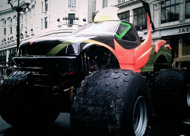 Monster Truck on Regent Street