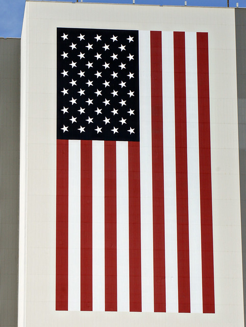 NASA US Flag - Pics about space