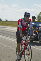 University of Houston Cougar Represents the Pride at the MS Ride to the River