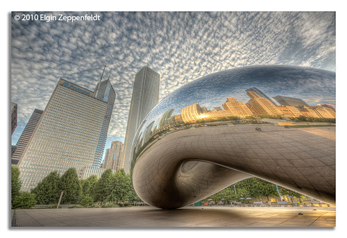 Cloud Gate a.k.a. The Chicago Bean