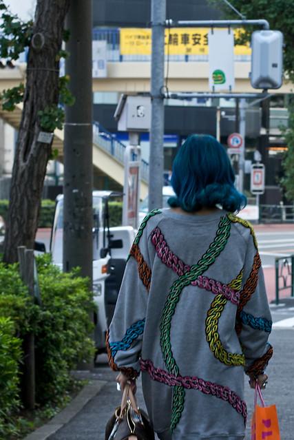 Pulloverkleid mit coolem Print