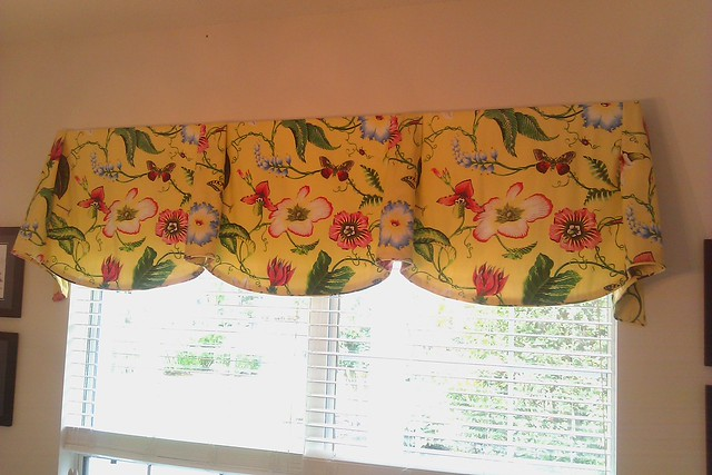 Valances For Dining Room Bay Window