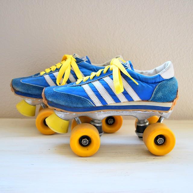 Tennis Shoe Roller Skate