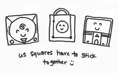 'us squares have to stick together'