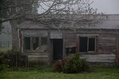 Old house, Kaimai, Bay of Plenty, New Zealand