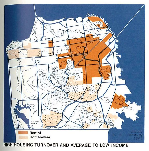 High Income Group House Map : High housing turnover and average to low income (1971)  Flickr ...