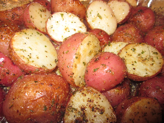 Herb-Roasted Red Bliss Potatoes | Flickr - Photo Sharing!