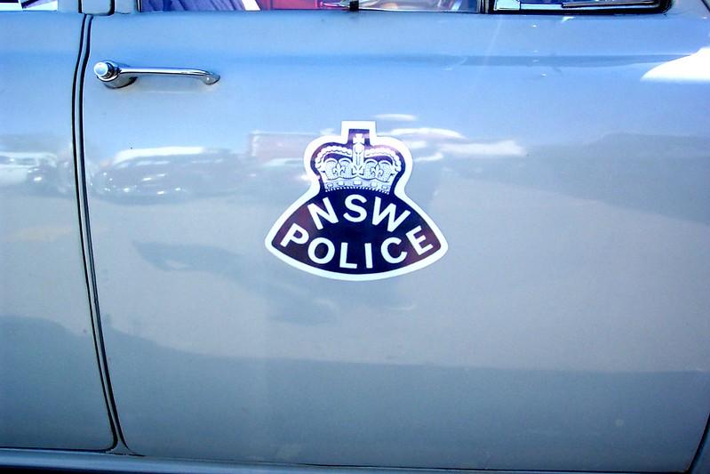 1956 Holden FE Business Sedan - NSW Police door crest