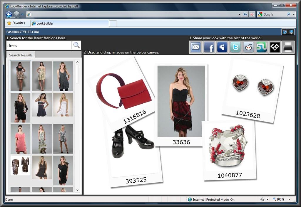 Fashion Stylist Collage Set App