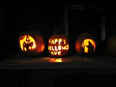 Halloween Pumpkin carving 9