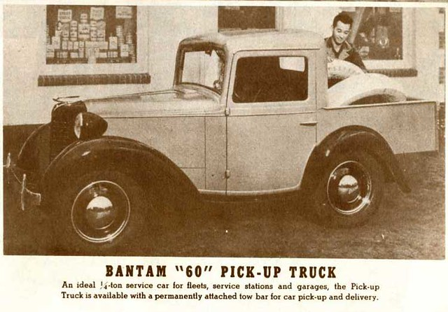 Bantam '60' Pickup advert