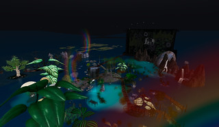 Mangroove Island at Night