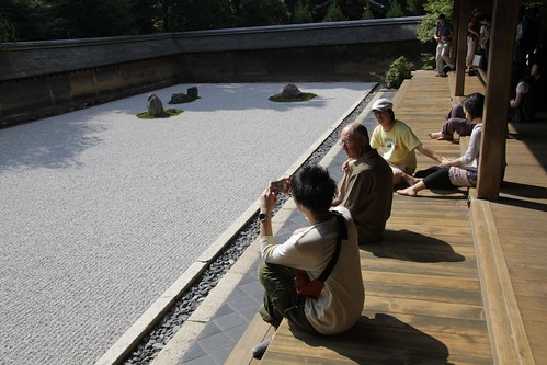 Sandgarden in Ryoanji Temple