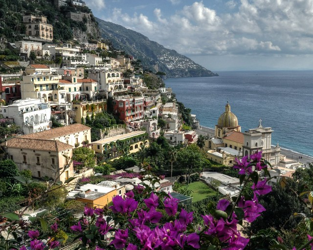 A View of Positano