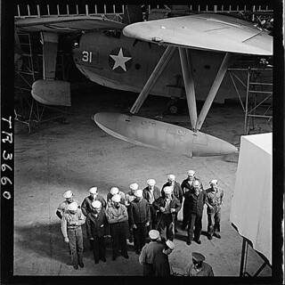 PBM Hangar at NAS Banana River, Fla, 03/1943