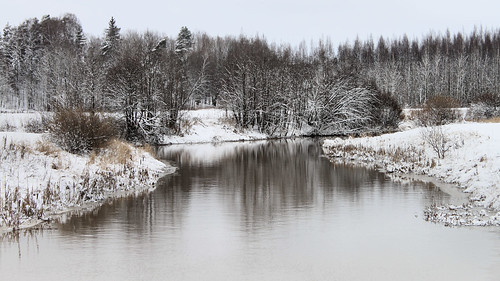 winter snow reflection reflections river landscape snowy wintry thegalaxy