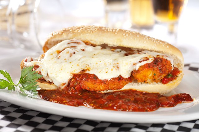 Homemade Chicken Parmigiana Sandwich | Flickr - Photo Sharing!