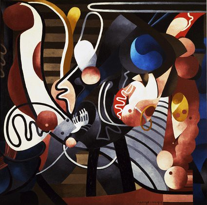 Picabia, Francis (1879-1953) - 1914 Comic Wedlock (Museum of Modern Art, New York City)