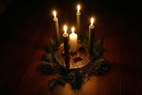 My Celtic Advent wreath by Stevie Steve Steven