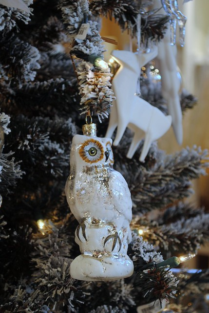 Hanging Owl Ornament