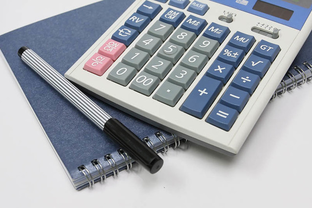 Calculator Pen And Book Flickr Photo Sharing