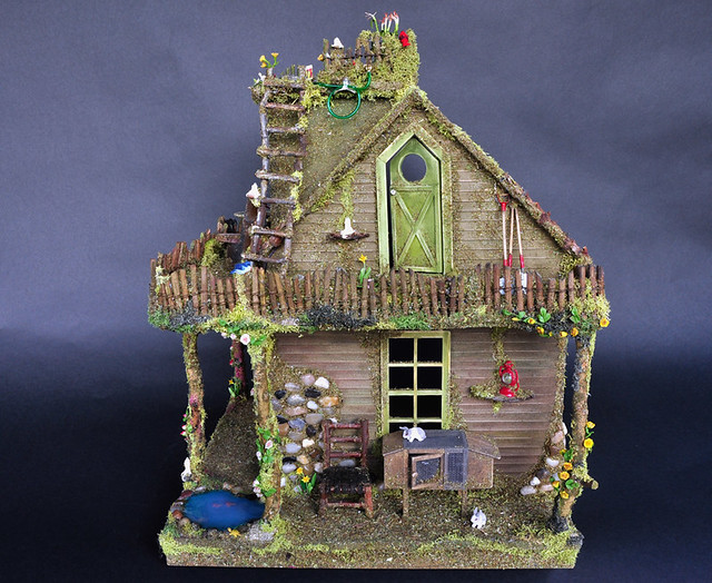 Fairy house side view flickr photo sharing for Building houses with side views