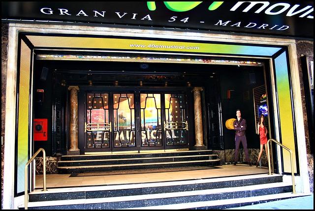 Teatro Rialto Movistar Gran V A Madrid Flickr Photo