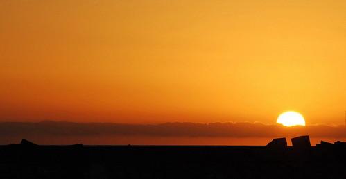 ..al tramonto