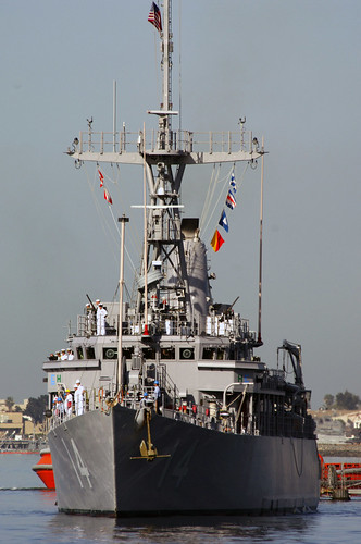 Mine Countermeasures Ship Replacements Depart for Japan