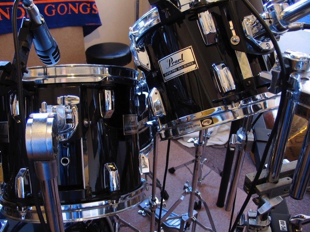 Pearl GLX drums