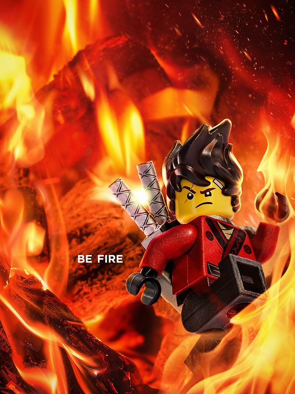 The LEGO Ninjago Movie Plakaty z postaciami 8