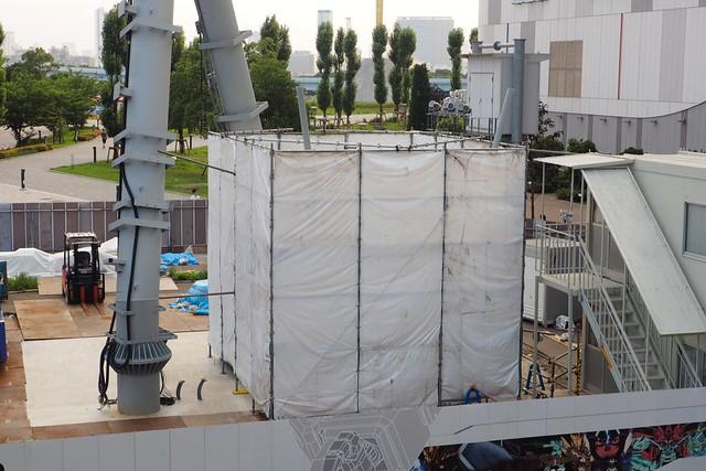 Real Gundam Unicorn Work progress