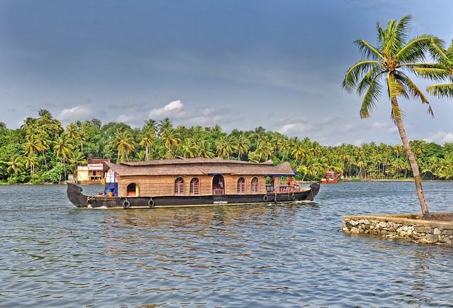 Kollam India  city images : Houseboat Ashtamudi Kayal Kollam, Kerala, India. Explored a ...