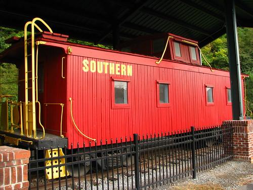 Southern Railroad Caboose - Elizabethton, TN