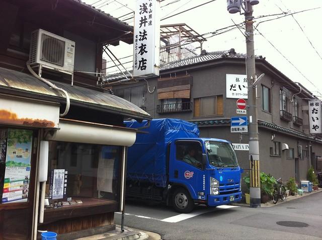 京都駅少し北側。