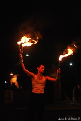 sports(0.0), bonfire(0.0), poi(1.0), performing arts(1.0), fire(1.0), dance(1.0), flame(1.0), night(1.0), performance art(1.0),
