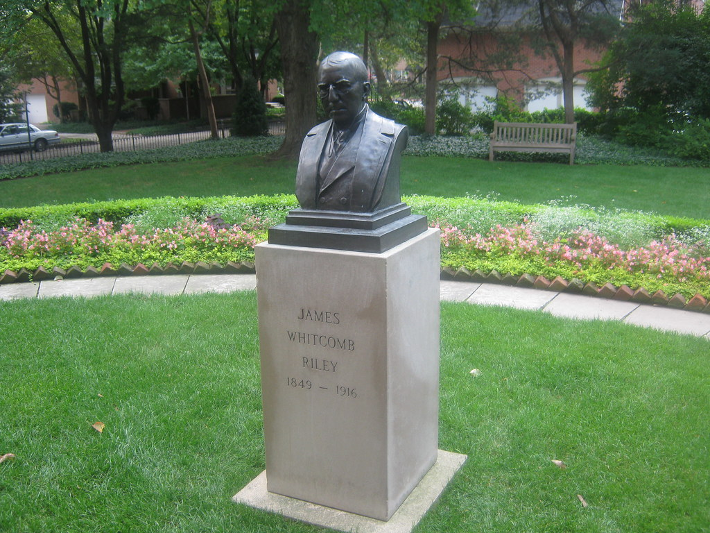 James Whitcomb Riley Bust