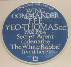 Photo of F. F. E. Yeo-Thomas blue plaque