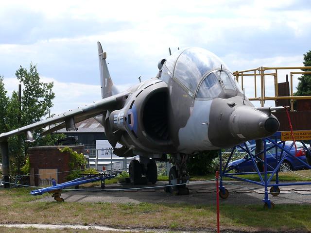 Hawker Siddeley Harrier T.Mk.2A